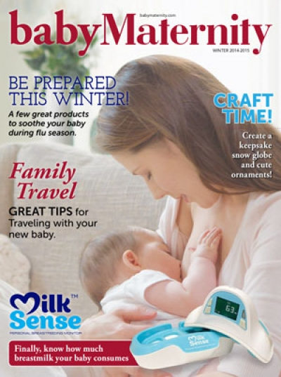 Baby Maternity Magazine Cover