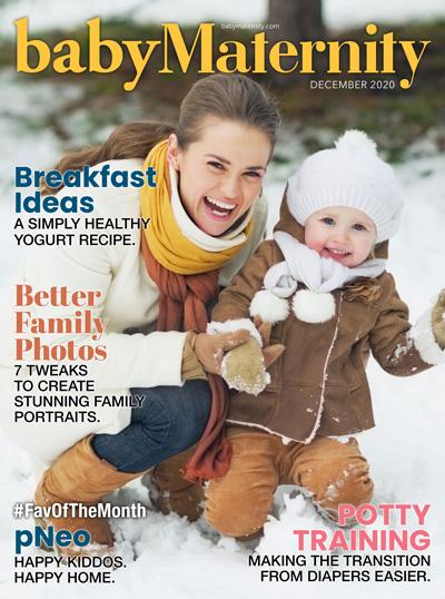 Baby Maternity Magazine Cover
