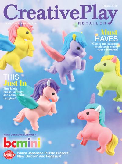 Creative Play Retailer Magazine Cover